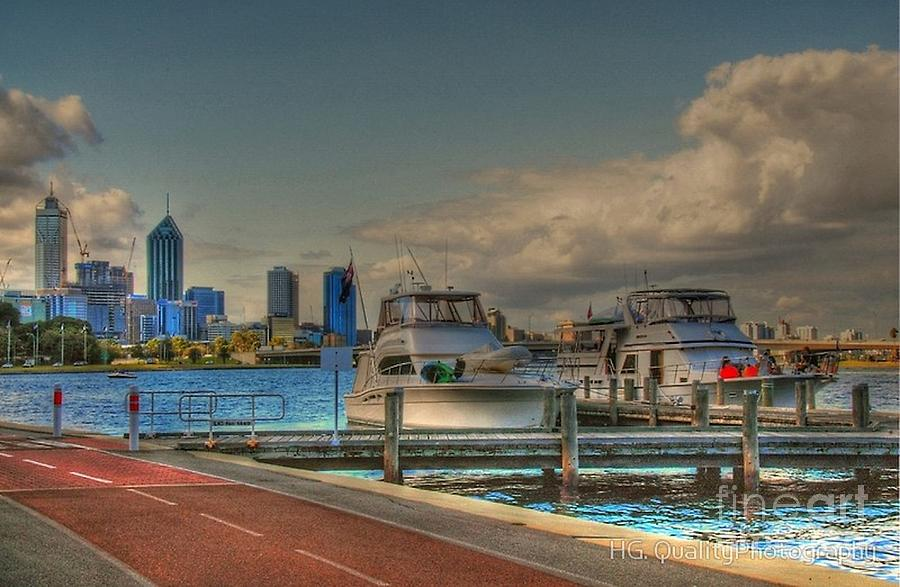 Claisebrook Doke Perth by Hans Peter Goepel