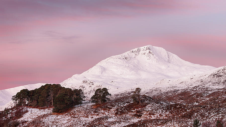 Glen Affric Photograph - Glen Affric Sunrise by Grant Glendinning