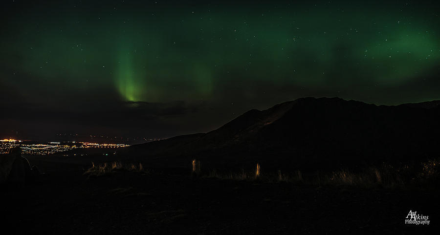 Glen Alps Northern Lights 1 by Art Atkins