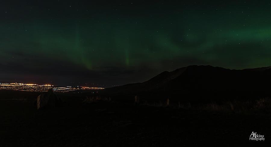 Glen Alps Northern Lights 2 by Art Atkins