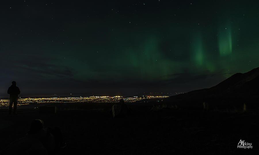Glen Alps Northern Lights 3 by Art Atkins