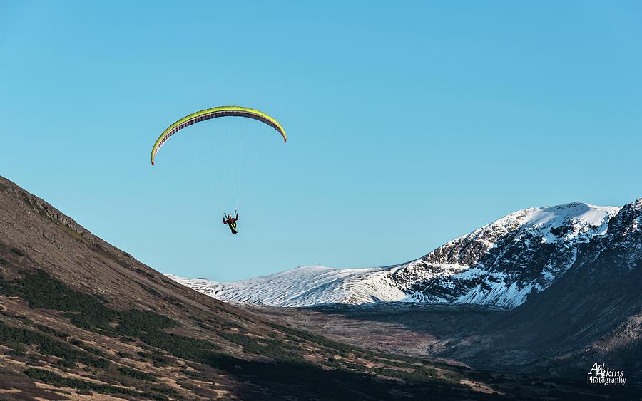 Glen Alps Paragliding by Art Atkins