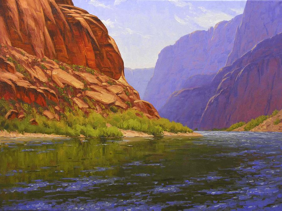 Cody Delong Painting - Glen Canyon Morning by Cody DeLong