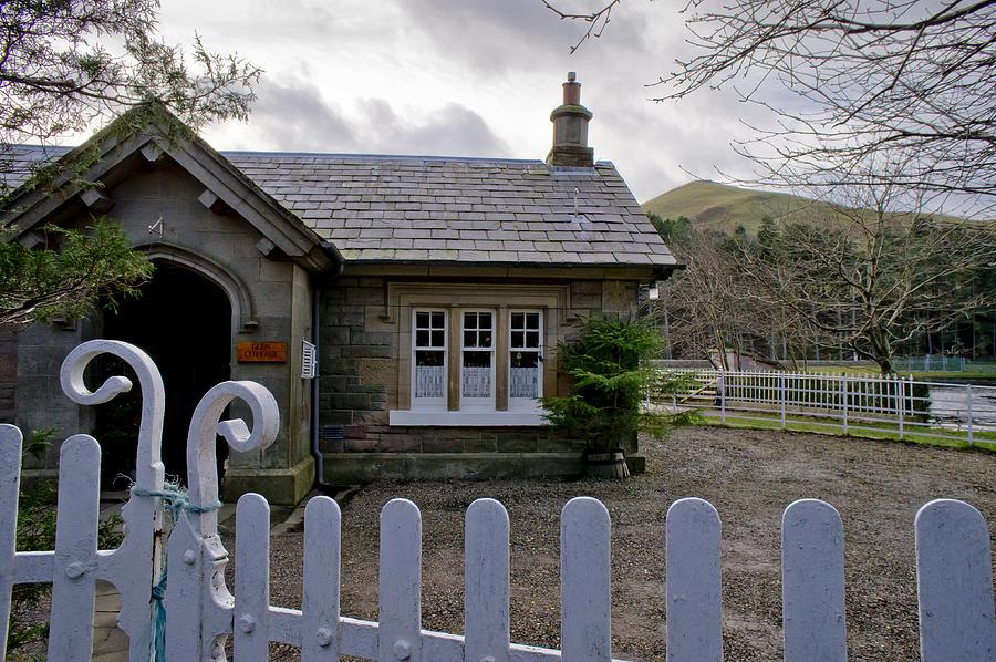 Scottish Photograph - Glen cottage. by Elena Perelman