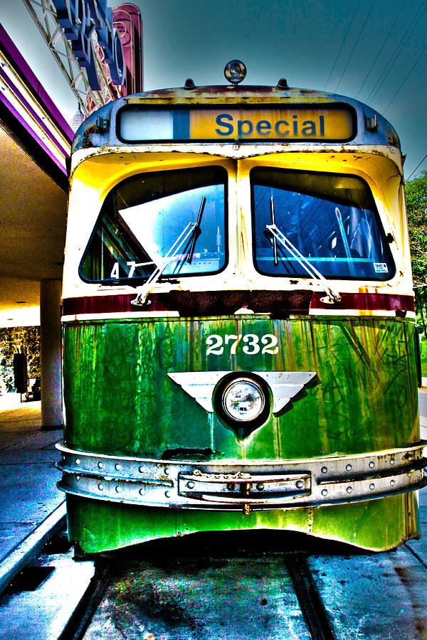 Glen Echo Trolley Photograph by Charlie Parker