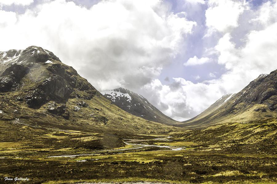 Glen Etive Photograph - Glen Etive by Fran Gallogly