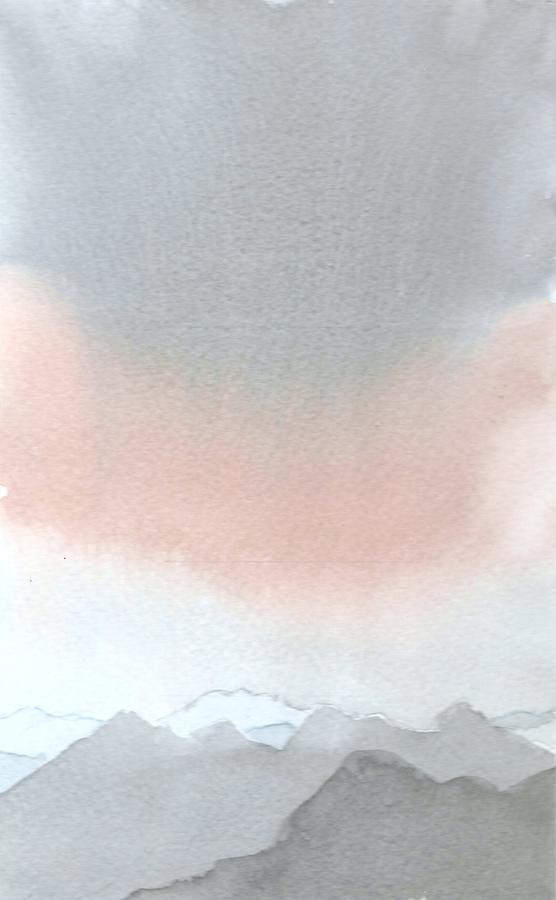 Wet On Wet Painting - Glen Etive by Jim Green