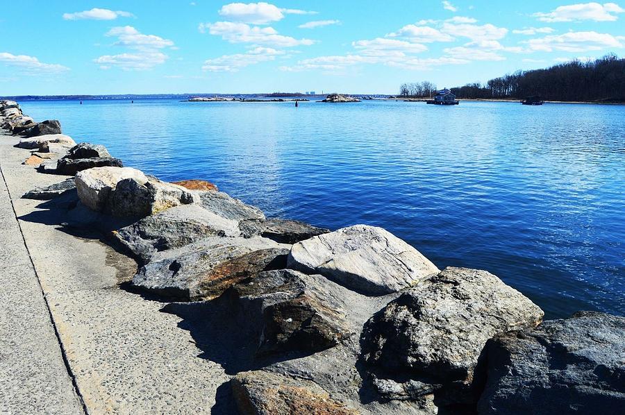 Glen Island Shore by Lynellen Nielsen