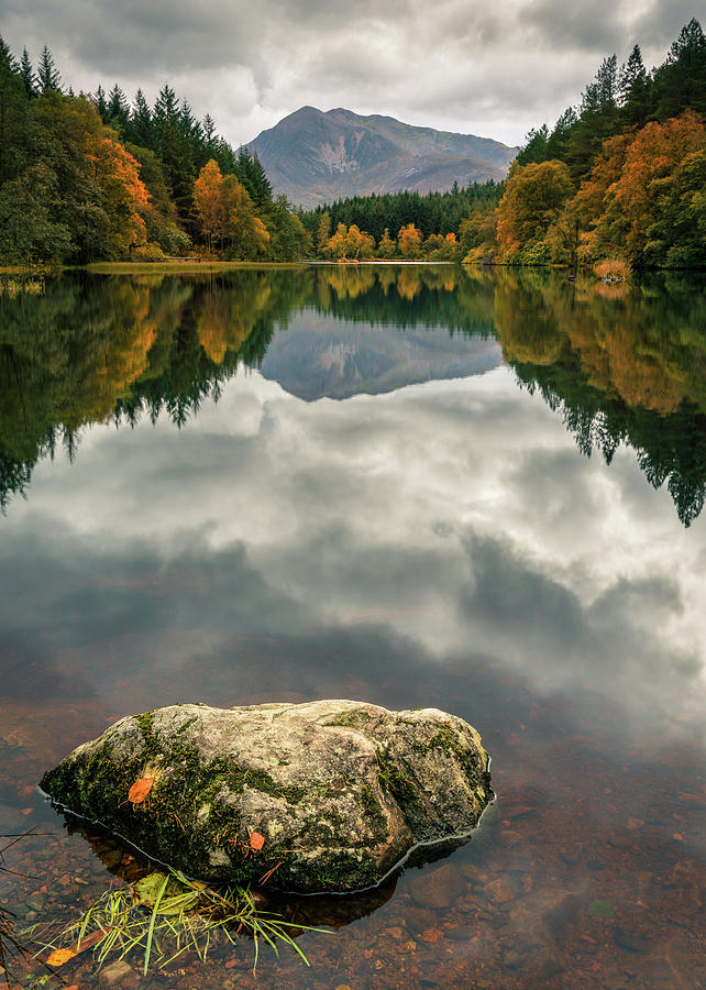 Glencoe Lochan by Dave Bowman