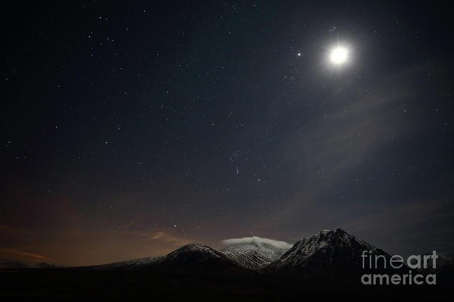 Glencoe Skyscape by Maria Gaellman