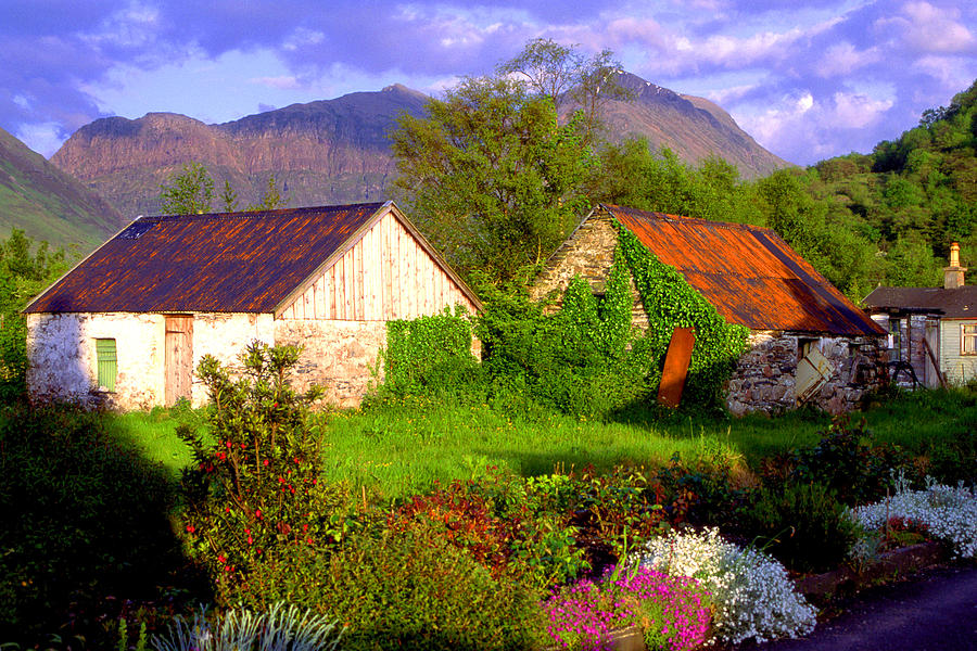 Scotland Photograph - Glencoe Village by John McKinlay