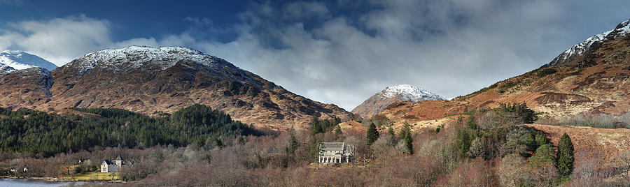 Landscape Photograph - Glenfinnan Panorama by Grant Glendinning