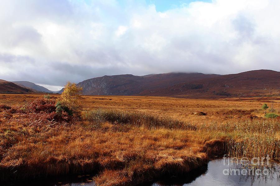 Wide Open Space Donegal Ireland by Eddie Barron