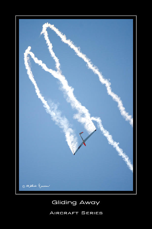 Glider Photograph - Gliding Away by Mathias Rousseau
