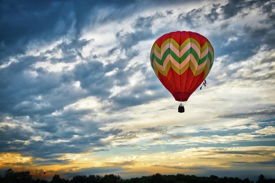 Gliding Through Sunset by Neil Shapiro