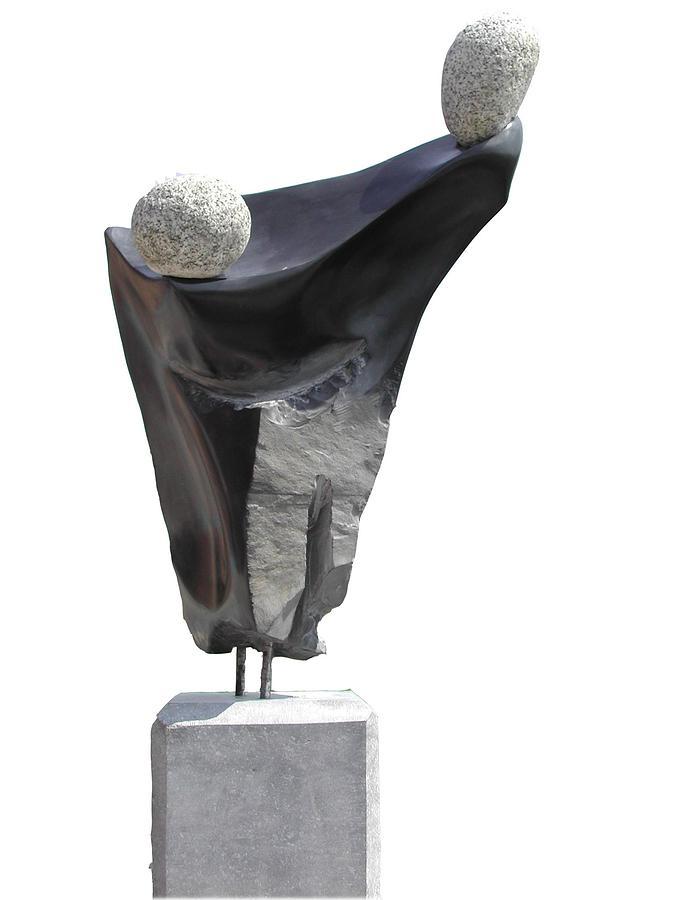 Limestone Sculpture - Glisando by Jos Hamann