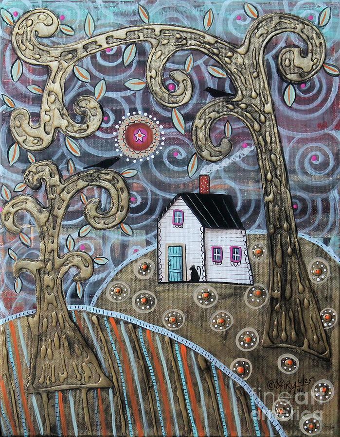 Landscape Painting - Glistening Landscape by Karla Gerard