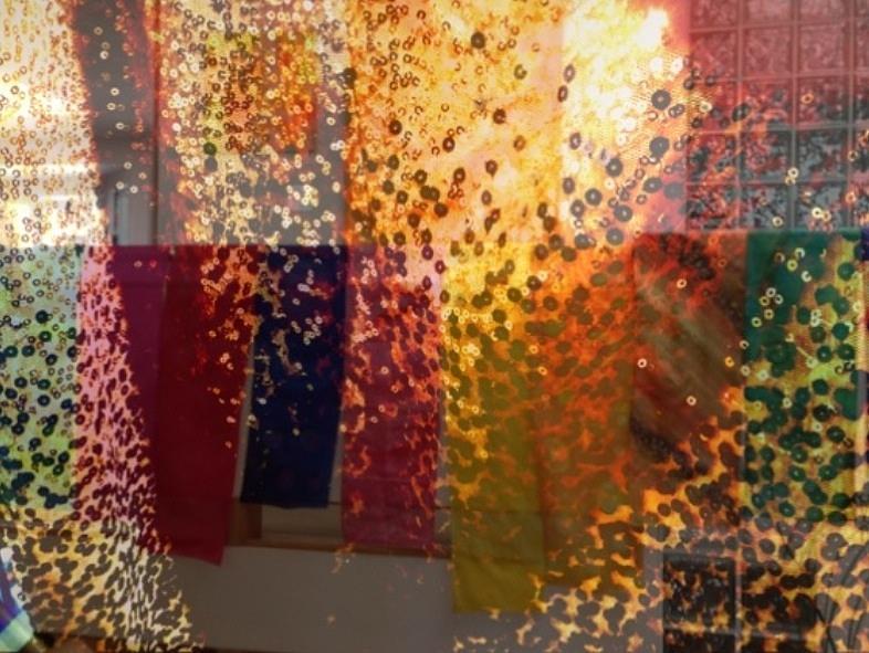 Abstract Photograph - Glitter Glow by Rita Koivunen