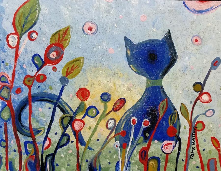 Glitter Painting - Glitter Kitty by Glory Story Treasures