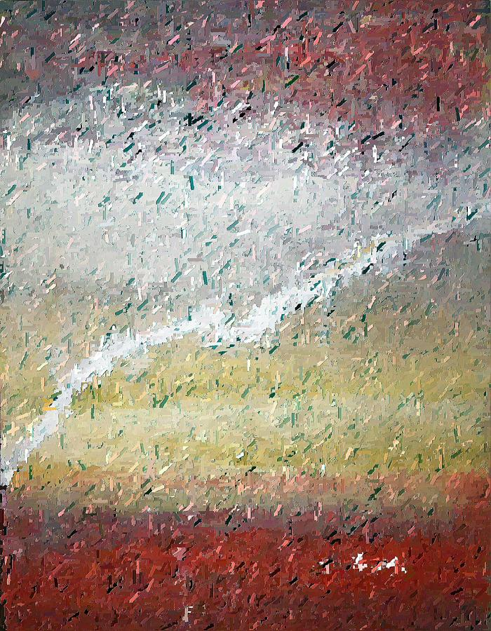 Abstract Painting - Global Warming - Ruined Atmosphere by Don Phillips