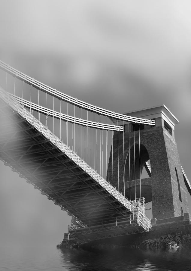 Clifton Suspension Bridge Photograph - Global Warming by Brian Roscorla