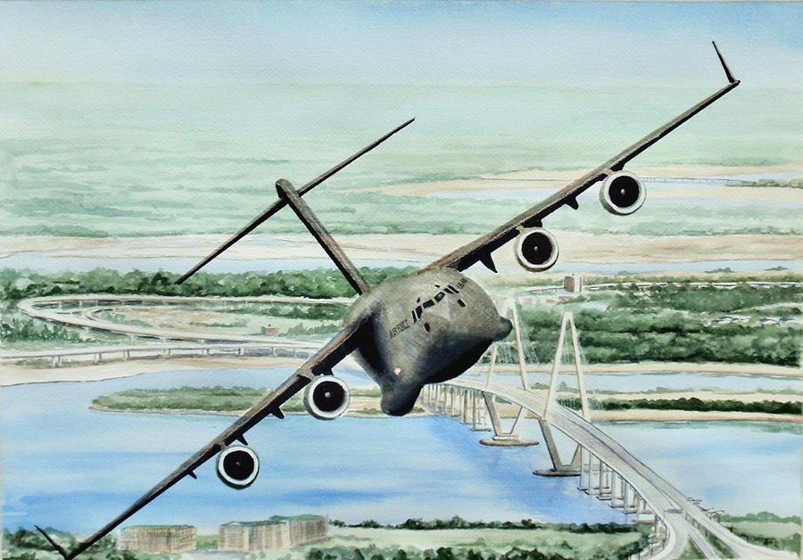 Globemaster Painting - Globemaster by Lane Owen