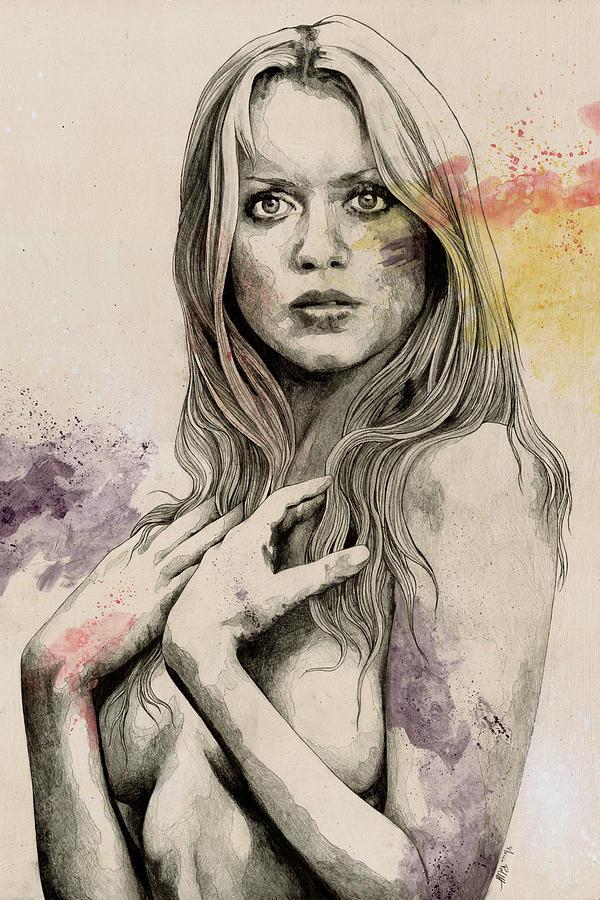 Sexy nackte Frauen skizzieren #7