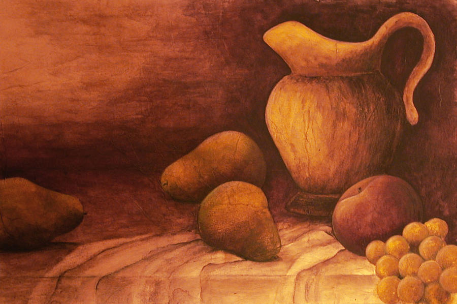 Still Life Painting - Gloria by Sandy Clift