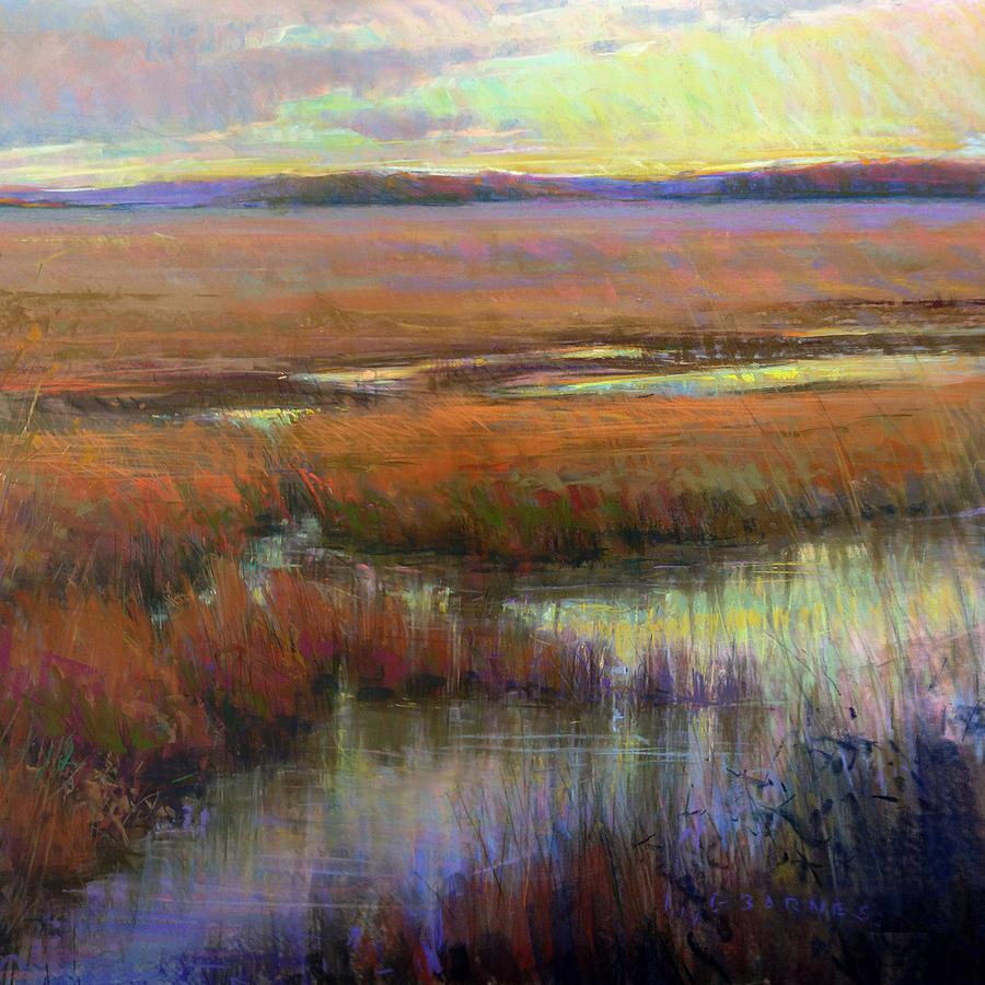Marsh Pastel - Glorious Appearing by Greg Barnes