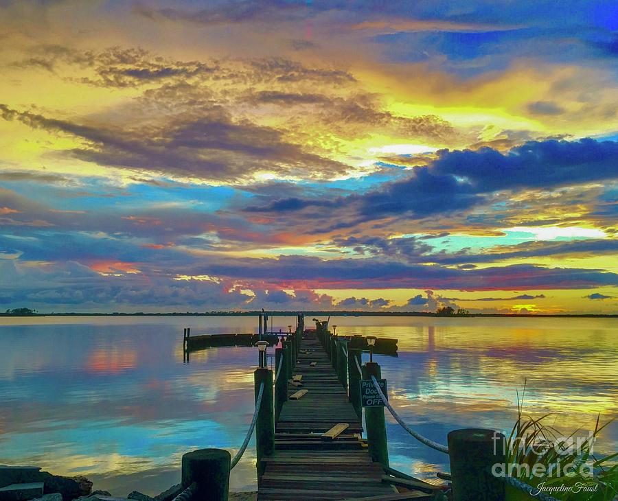Glorious Dock by Jacqueline Faust