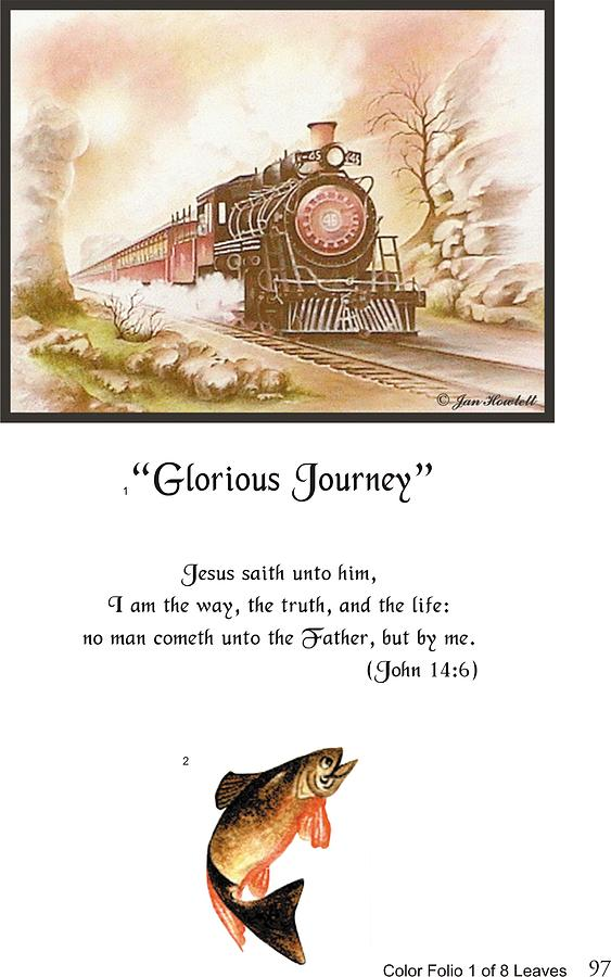 Glorious Journey  -  Page 97 Painting by Jan Howlett