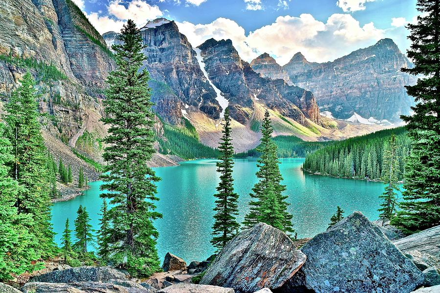 Glorious Lake Moraine by Frozen in Time Fine Art Photography