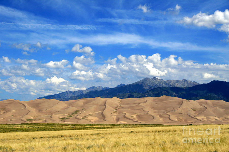 Great Sand Dunes National Park Photograph - Glorious Morning 2 by Paula Guttilla