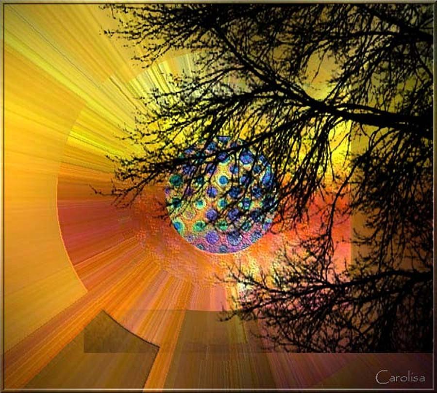 Glorious Morning Digital Art by Carola Ann-Margret Forsberg