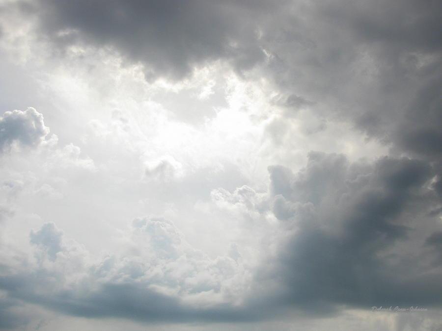 Clouds Photograph - Glory by Deborah  Crew-Johnson