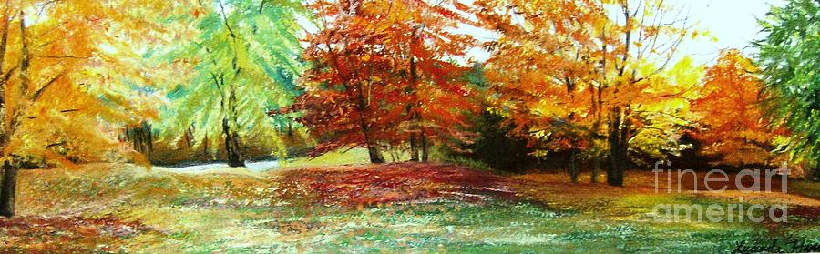 Autumn Painting - Glory by Lucinda  Hansen