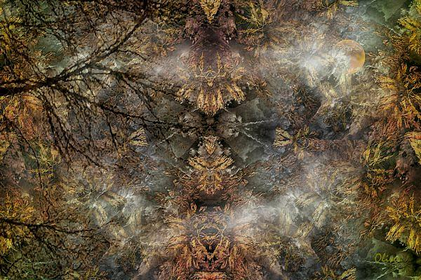 Surrealism Mixed Media - Glory Of Nature by Charles Oliver