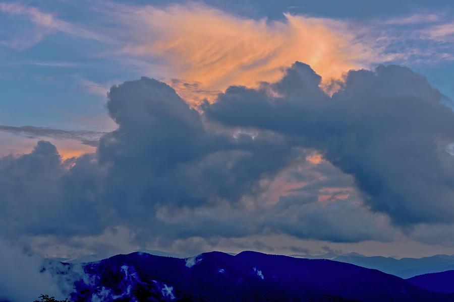 North Carolina Photograph - Glory Of Sunset by Barbara Hayton