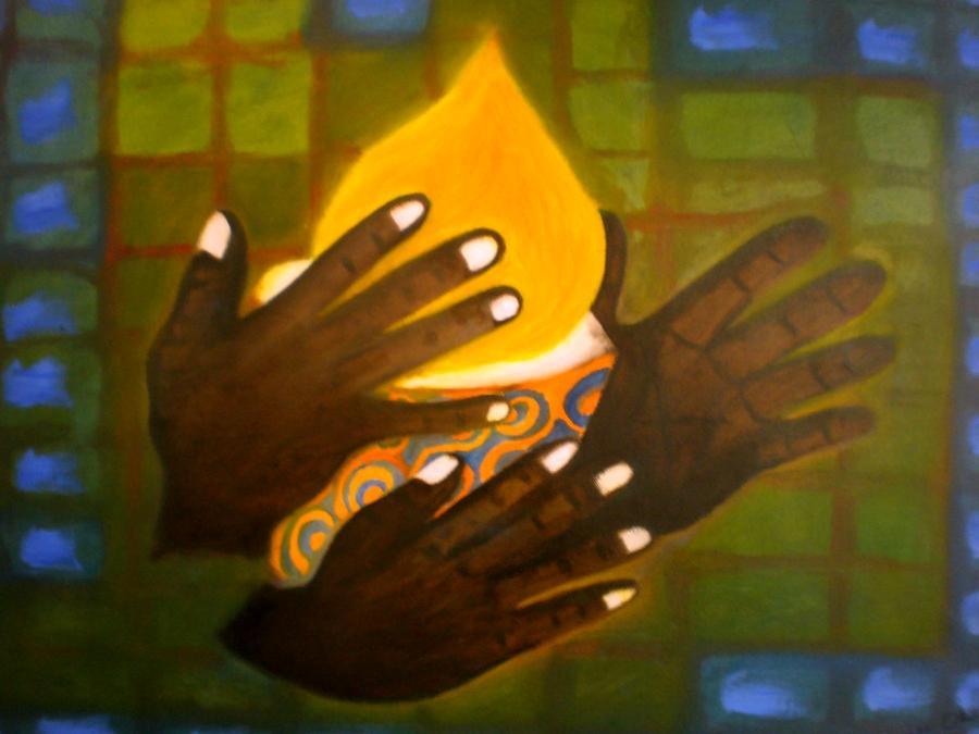 Glory Painting - Glory by Philip Okoro