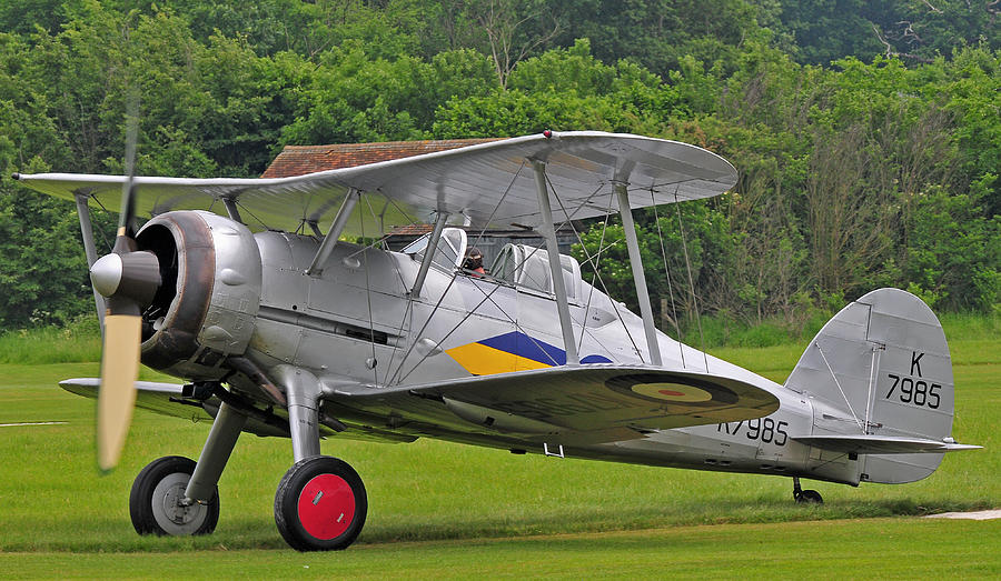 Gloster Gladiator Photograph by Dave Briers
