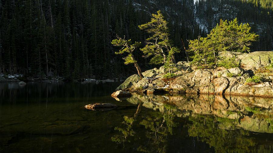 Rocky Mountain Photograph - Glow by Chad Dutson