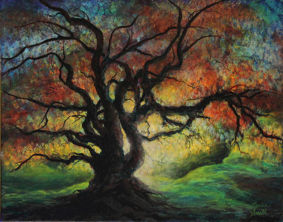 Dark Tree Paintings | www.pixshark.com - Images Galleries ...