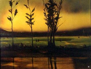 Glow Painting by Judith DAgostino