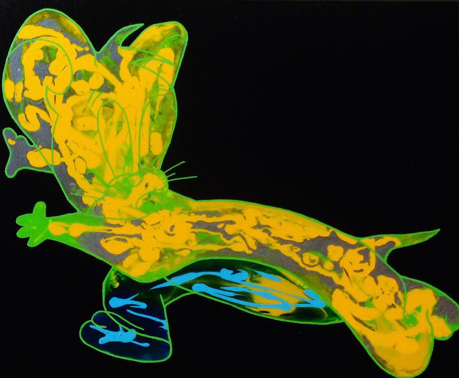 Glow Painting - Glow Stick by Dane Newton