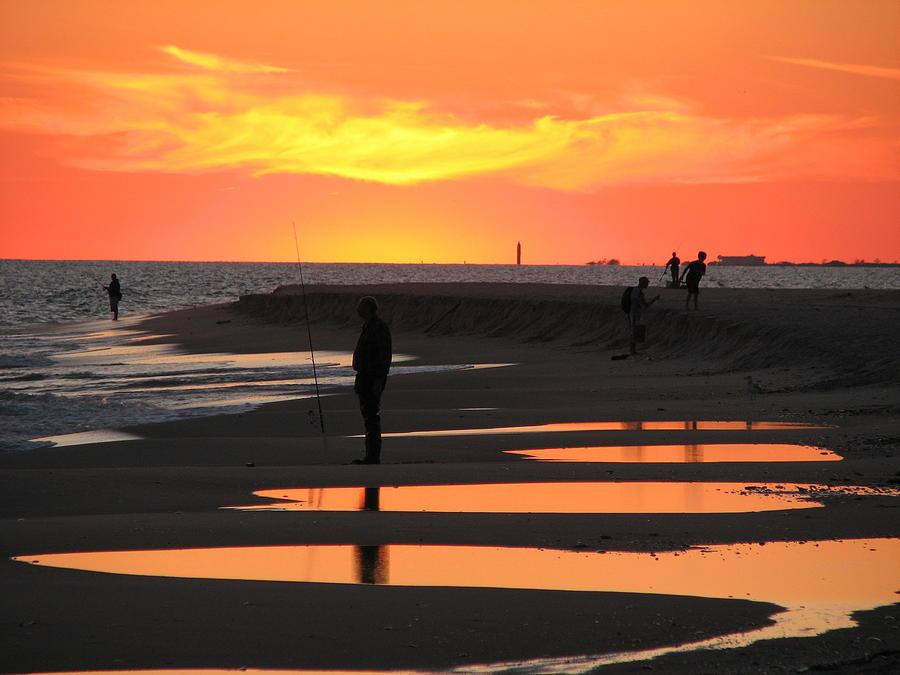 Glowing Beach by SJ Lindahl