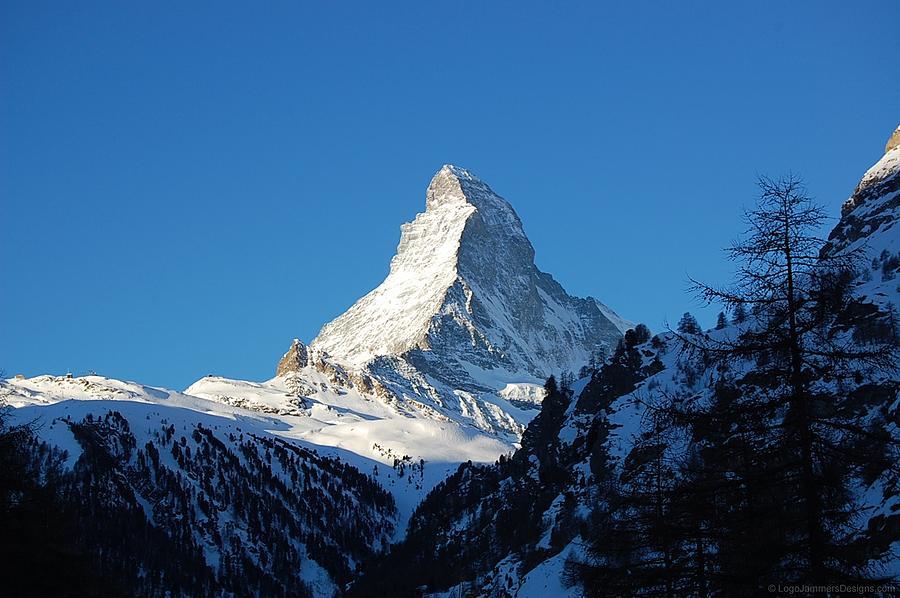 Matterhorn Photograph - Glowing Matterhorn by Leslie Thabes