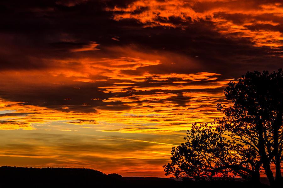 Glowing Sky Photograph