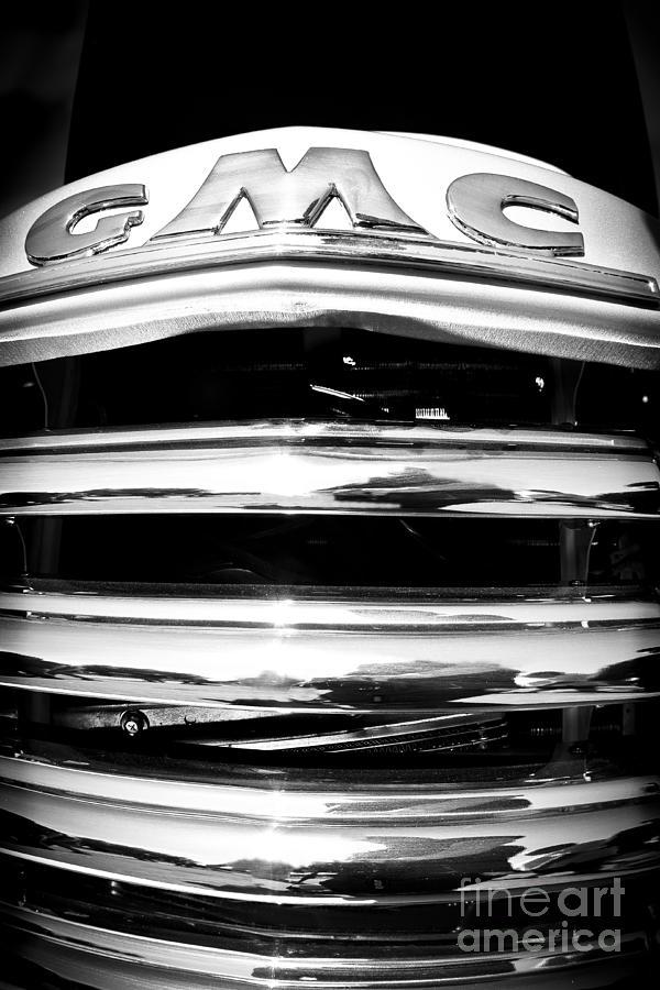 Car Photograph - GMC by Alex Garcia