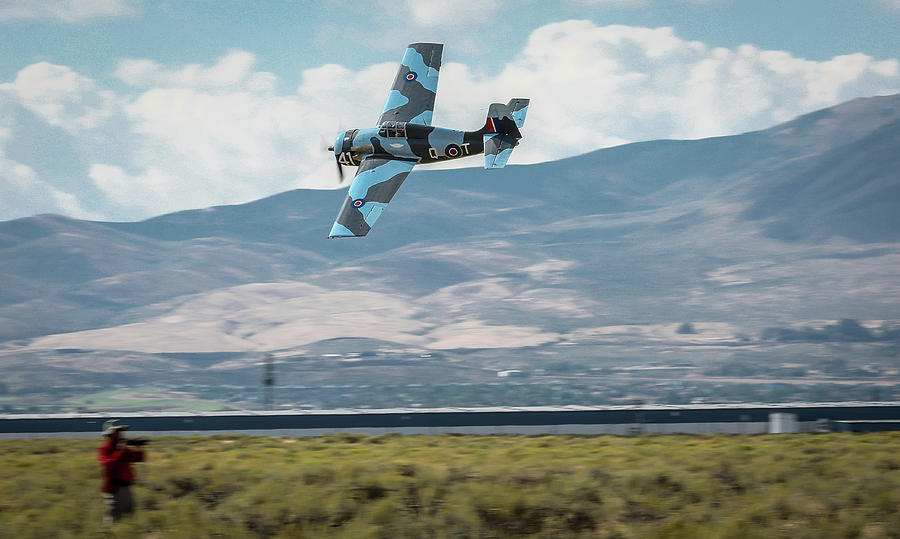 Reno Air Races Photograph - Go Fast Turn Left Fly Low Friday Morning Unlimited Bronze Class by John King