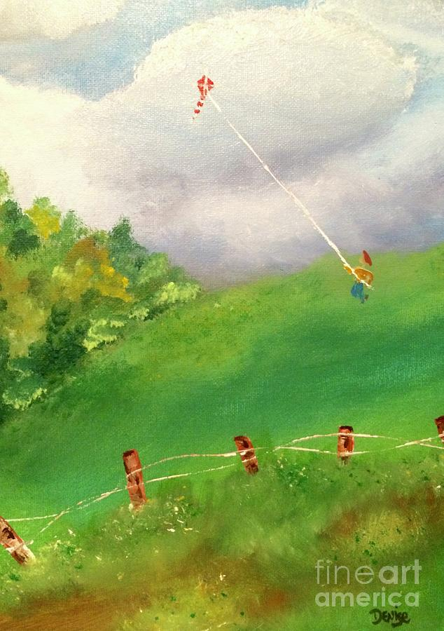 Go Fly A Kite by DENISE TOMASURA
